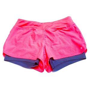 Layer 8 Women's Layered Running Shorts